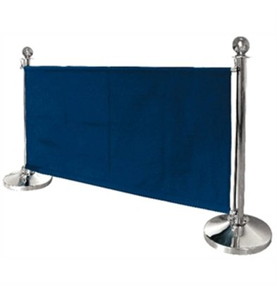 Bolero Canvas outlets cloth for sales poles - Blue