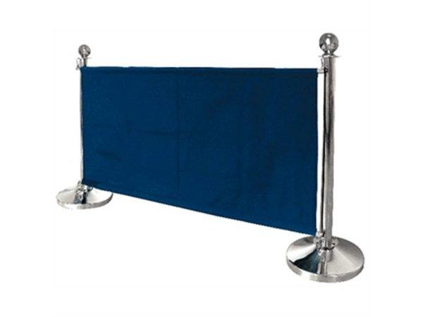 Bolero Canvas outlets cloth for sales poles - Blue