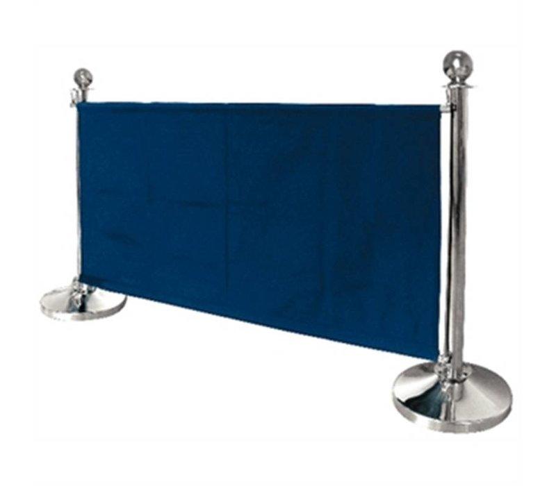 Bolero Leinentuch Steckdose für den Vertrieb Pole - Blau