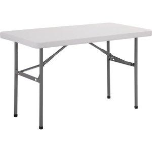 Bolero Buffet Table with Folding Legs - Grey - 74 (h) x122 (b) cm