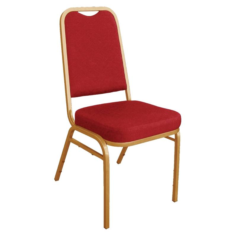 Bolero Banquet Chair Stackable With Straight Back