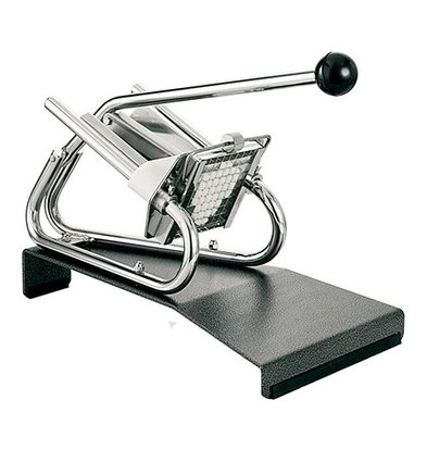 XXLselect Chips Cutter Tabletop Chrome - Pedestal - Mesrooster 8x8mm
