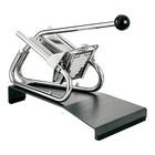 XXLselect Patatsnijder Tafelmodel Verchroomd - Voetstuk - Mesrooster - 6x6mm