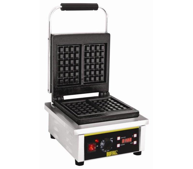 Buffalo Waffle Geräte Edelstahl Doppel - mit Gussplatten - 305x235x (h) 400mm - 2Q