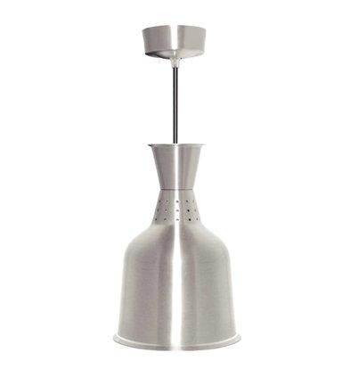 Buffalo Aluminium-Wärmelampe Silber Farbe - 250W / 230V - 18,5x (h) 33cm