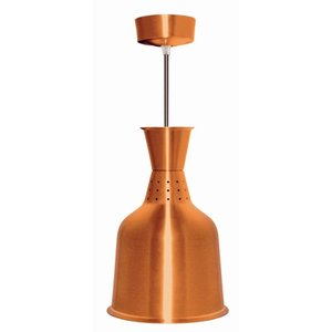 Buffalo Aluminium-Wärmelampe Bronze Farbe - 250W / 230V - 18,5x (h) 33 cm