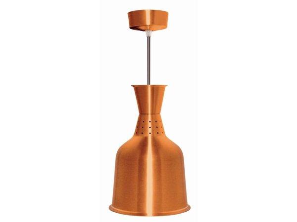 Buffalo Aluminum Heat Lamp Bronze Color - 250W / 230V - 18.5x (h) 33cm