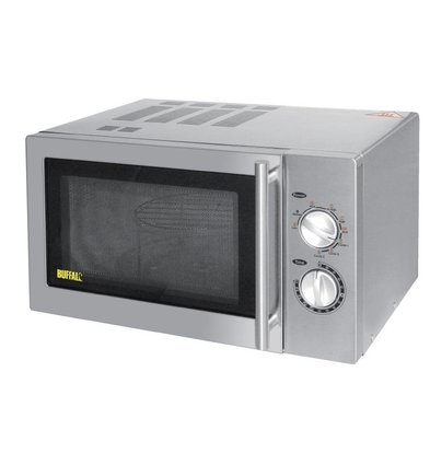 Buffalo Budget Microwave & Grill | 900W | 5 Different Power Features