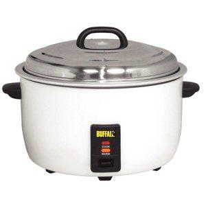 Buffalo XXL Professionelle Reiskocher - +/- 92 Portionen kochen Reis Messbecher + Schaufel - Anti-stick - 23 Liter