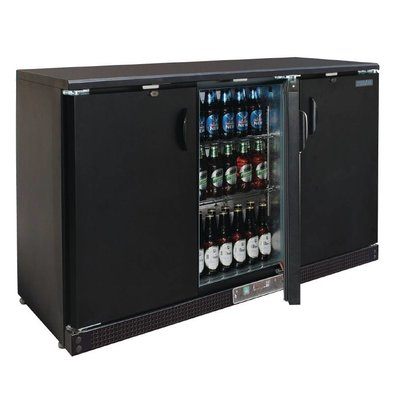 Polar Barkoeling Black 3 Blinde Kuh Türen - 273 Flaschen - 335 Liter - 1352 (b) x535 (d) X925 (H) mm