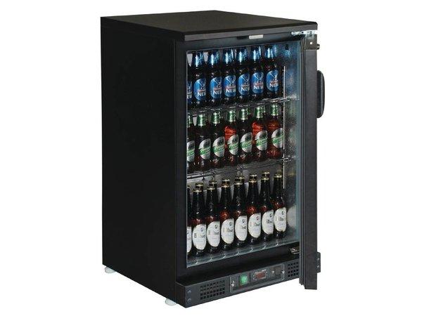 Polar Barkoeler Mit Blindtür - 104 330ml Flaschen - 140 Liter - 600 (b) x535 (d) X925 (H) mm