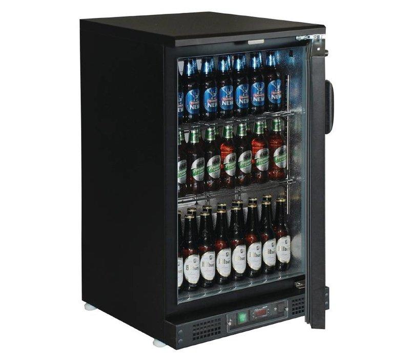 Polar Barkoeler With Blind Door - 104 330ml bottles - 140 liters - 600 (b) x535 (d) X925 (H) mm