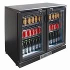 Polar Low Bar Kühlschrank 2 Türen - 168 330ml Flaschen - 218 Liter - 920 (b) x520 (d) X870 (H) mm