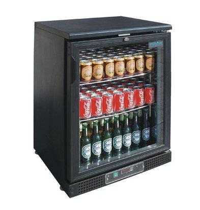 Polar Getränke Kühler mit niedrigem Hub-System - 100 Flaschen 330ml - 130 Liter - 600 (b) x535 (d) X870 (H) mm