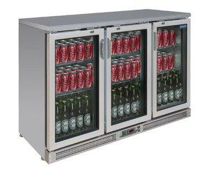 Kühlschrank Polar : Polar edelstahl bar kühlschrank falttore flaschen