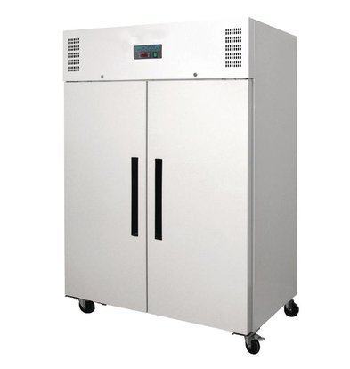 Polar Double Hospitality Fridge - 1200 Liter - 134x81x (h) 200cm