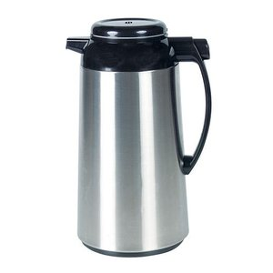XXLselect Thermos - Stainless steel - push button lock in handle - 1 liter