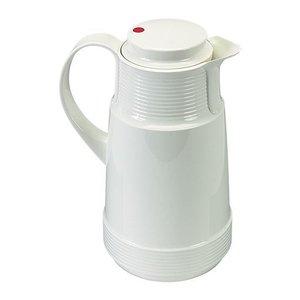XXLselect Isoleerkan - Kunststof - Glazen Binnenpot - 1 Liter - Wit