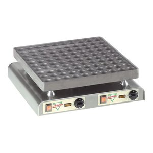 XXLselect Poffertjes Bakplaat - 100 Poffertjes - 470x(h)440mm - 4.4KW