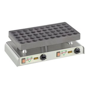 XXLselect Poffertjes Backblech - für 50 Poffertjes - 470x (H) 270 mm - 2.2KW