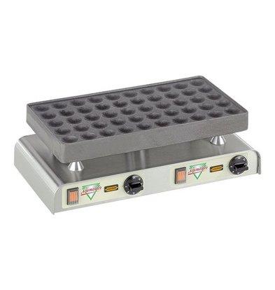 Neumarker Poffertjes Backblech - für 50 Poffertjes - 470x (H) 270 mm - 2.2KW