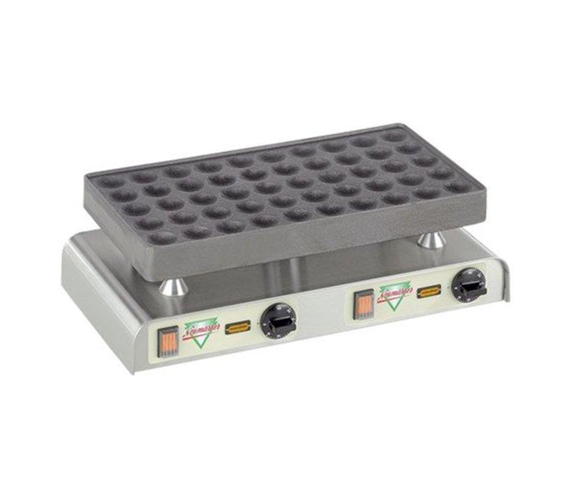 XXLselect Poffertjes Backblech - für 50 Poffertjes - 470x (H) 270 mm - 2.2KW