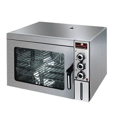Caterchef Convection oven with steam function 4 x 2/3 GN