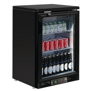 Polar Bar Kühlschrank mit Schwingtür - 104 Flaschen 330ml - 140 Liter - 600x530x (H) 920mm
