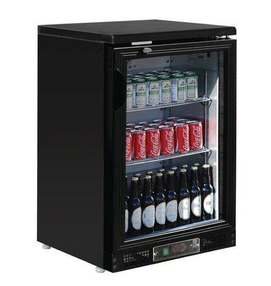 Polar Bar Fridge with hinged door - 104 bottles 330ml - 140 liters - 600x530x (H) 925mm
