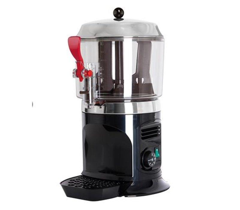XXLselect Warme Chocolademelk Dispenser -met Aftapkraan + Lekbakje - 5 liter