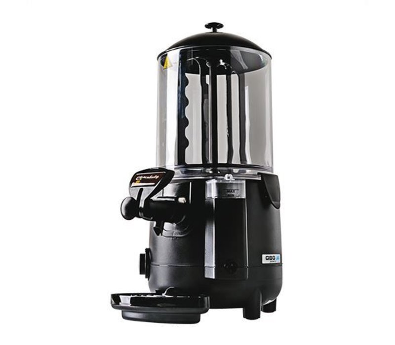 XXLselect Hot Chocolate Dispenser mit Tropfschale Ablassventil + - 10 Liter