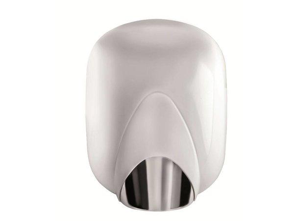 VAMA Wit Stalen Handdroger   SUPERPOWER   8 - 10 sec   1100W
