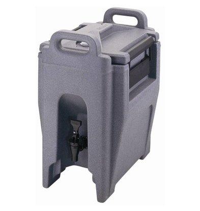 Cambro Beverage Container Polythylene   Shaped Handles   Non-Drip   20 liter