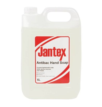 XXLselect Jantex antibacteriële handzeep - 5 liter - 190x130x(h)275mm