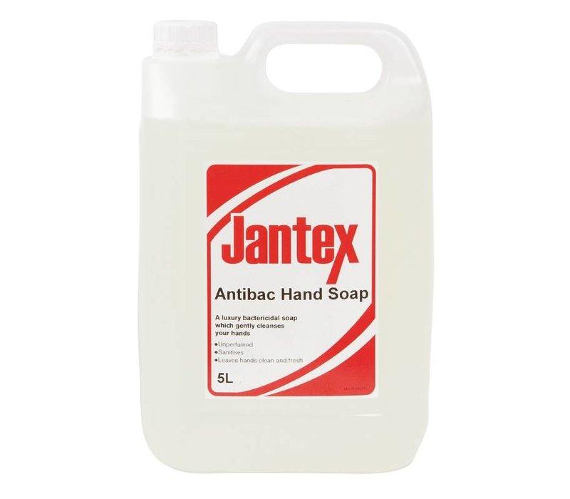 XXLselect Jantex antibakterielle Handseife - 5 Liter - 190x130x (H) 275mm