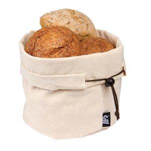 XXLselect Cotton Bread Basket - Beige - Ø200x (h) 235mm