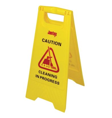 "Jantex Warning sign ""Cleaning"""