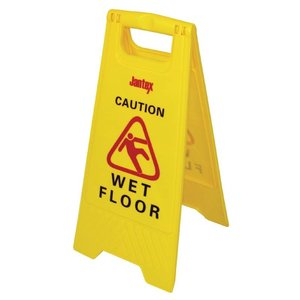 "XXLselect Warning sign Wet Floor sign ""Caution Wet Floor"""