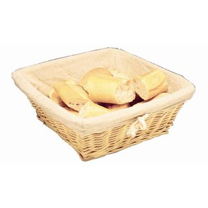 XXLselect Bread Basket with Cover - 230x (H) 230mm
