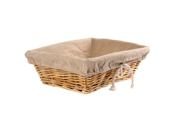 XXLselect Bread Basket with Cover - 350x (H) 250mm