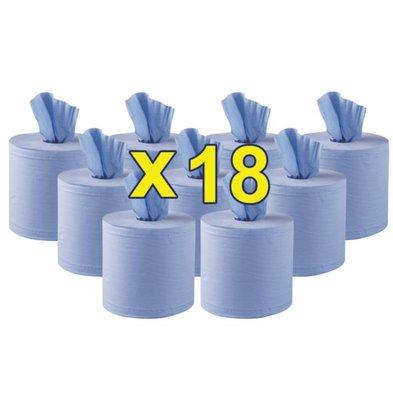 XXLselect Jantex blauw Centre Feed, 2-laags (Box 18)