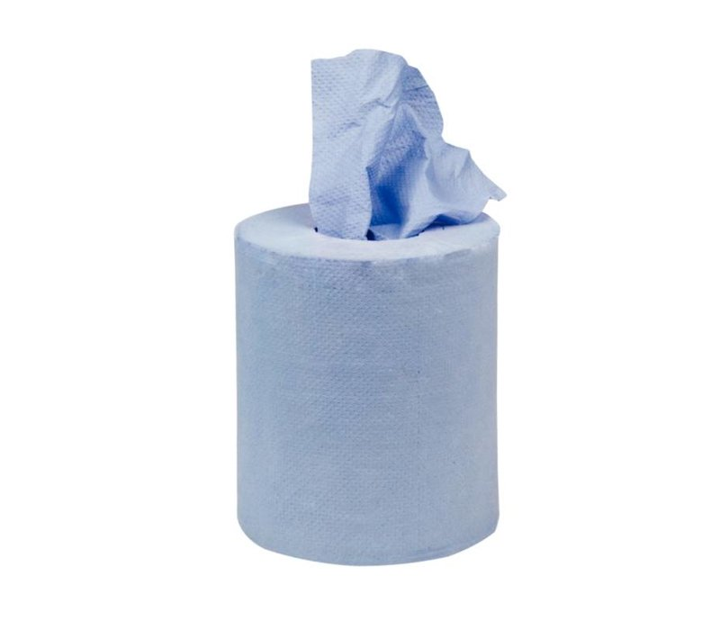 XXLselect Jantex Centre Feed roll blue one-ply small