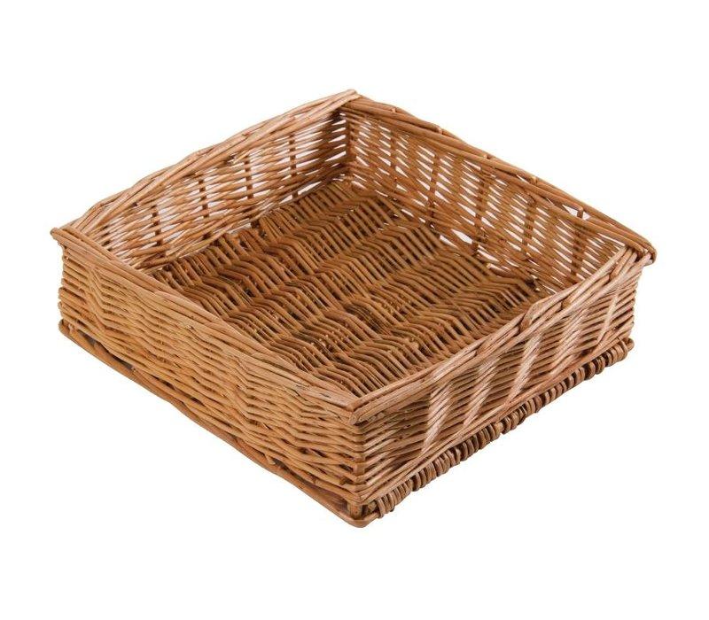 XXLselect Tabel Basket Square - 250x250x(h)80mm