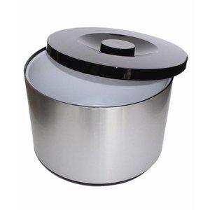 XXLselect Eiskübel XXL   Aluminium   Abnehmbare Tropfschale   10 Liter   Ø292 (H) 217mm