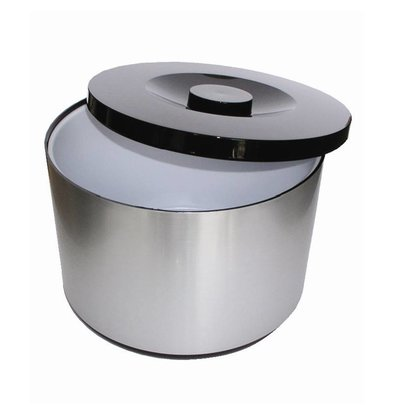 XXLselect Ice bucket XXL | Aluminium | Removable drip pan | 10 Liter | Ø292 (H) 217mm