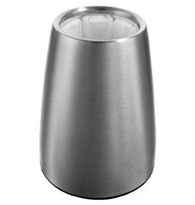 Vacu-vin Vacu Vin Weinkühler aus Edelstahl - mit elegantem Design - Abnehmbarer Kühlkörper - Kühlt in 5 Minuten - Ø15,5cm x 23 (H) cm