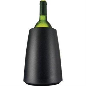 XXLselect Vacu-Vin Wijnkoeler Mat Zwart - Koelt In 5 Minuten -Ø15,5cm x 23(h)cm