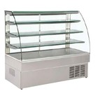 XXLselect Pastry Display with curved glass - 5th Floor - 147x75x133 (h) cm