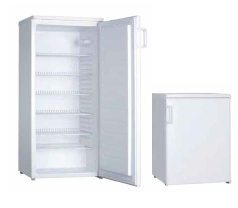 XXLselect Refrigerator Budget - 55x57x (h) 85cm