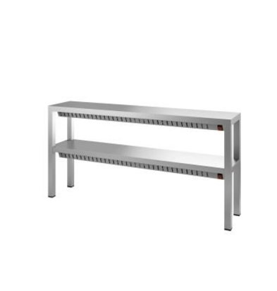 Combisteel Dual Heat bridge / Heated cake stand - 4 x 0.35 kW - 1200x300x (H) 650mm